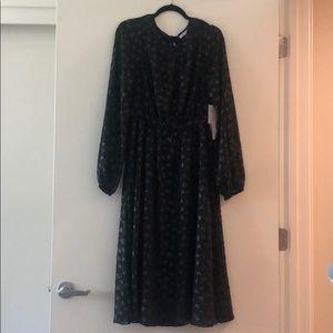 Avec Les Filles Heart Appliqué Dress